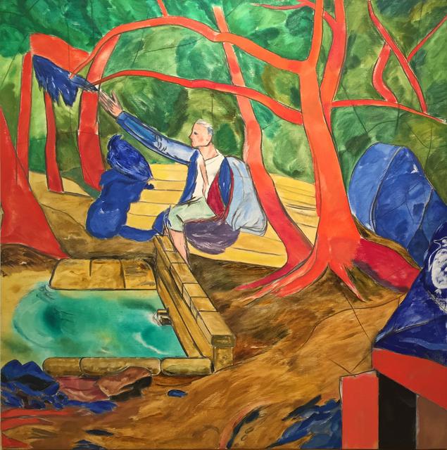 R. B. Kitaj, 'Rousseau', 1990, Mark Borghi Fine Art