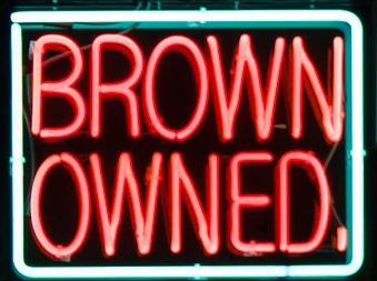 , 'BROWN OWNED,' 2017, Gastman