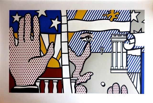 Roy Lichtenstein, 'Inaugural', 1977, Print, Screenprint on arches 88 paper, Pop Fine Art