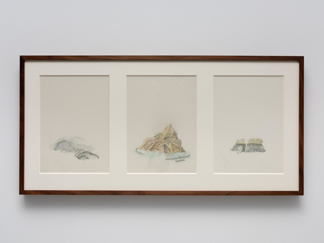 , 'Untitled Islands (X-XII),' 2019, Cecilia Hillström Gallery