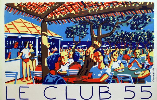 , 'SAINT TROPEZ LE CLUB 55,' 1966, Galleria Alfieri