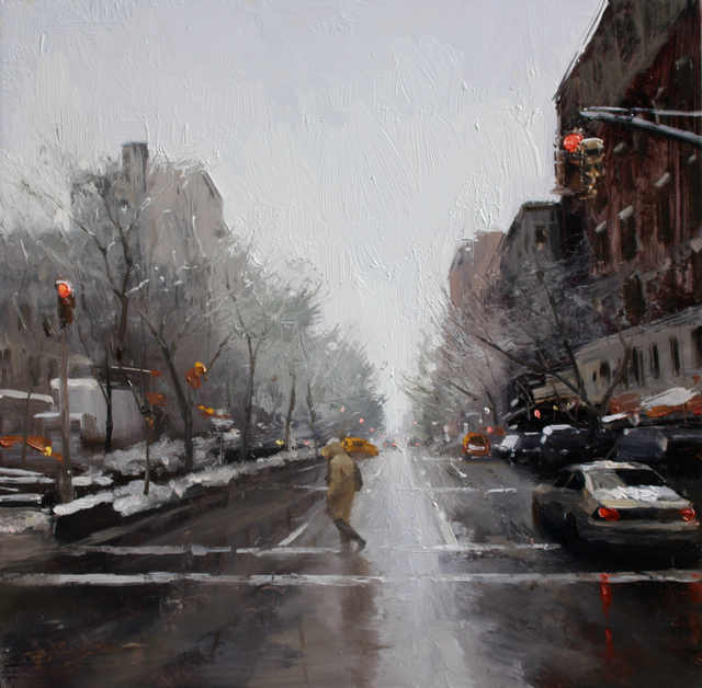 , 'First Snow,' 2015, Abend Gallery