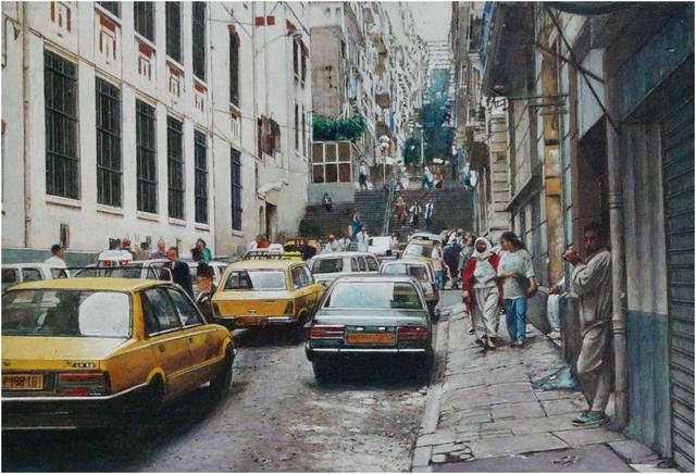 Rudolf Häsler, 'Strasse in Argel', 1997, bromer kunst
