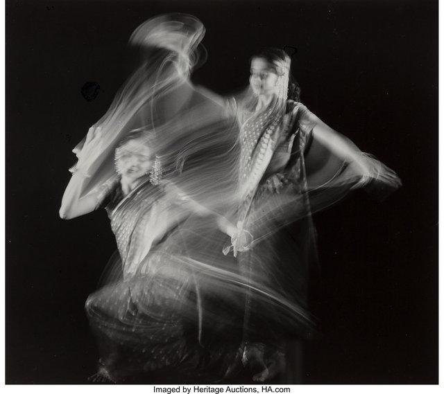 Herbert Matter, 'Study in Motion, Indian Dancer, Pravina Vashi', circa 1940-printed later, Heritage Auctions