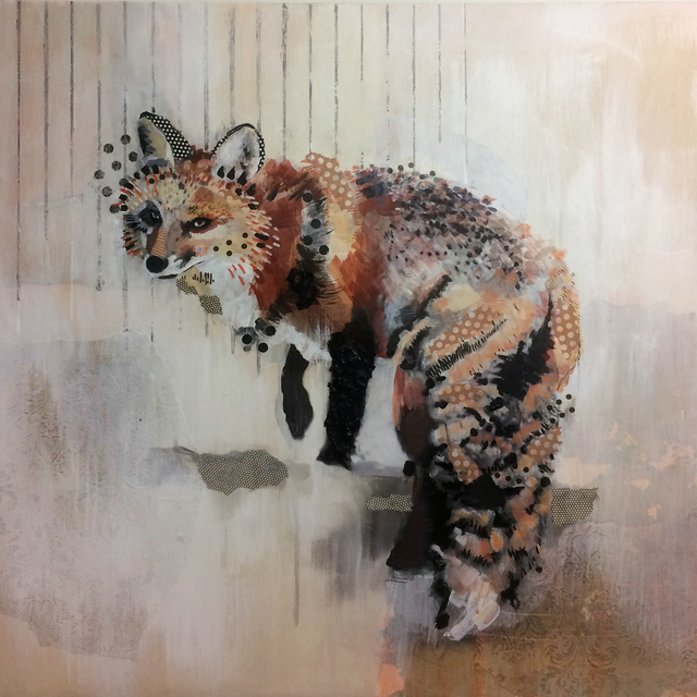 , 'Red Fox Gaze,' 2017, Newzones