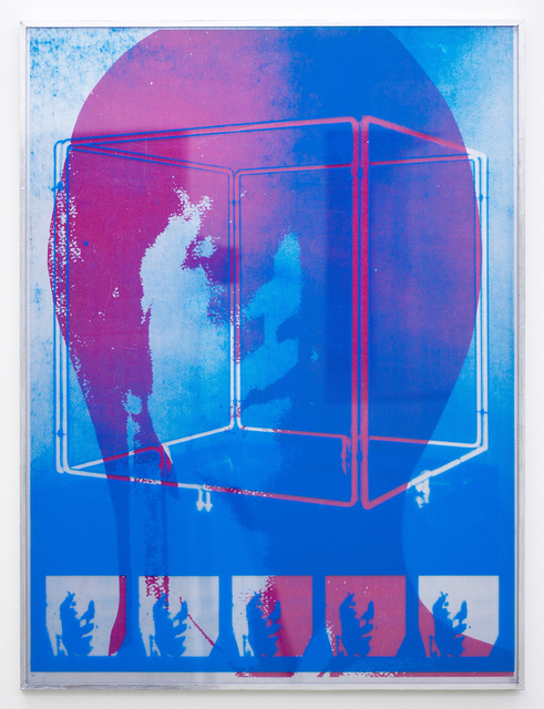 , 'Plastic Poster #1,' 2016, Romer Young Gallery