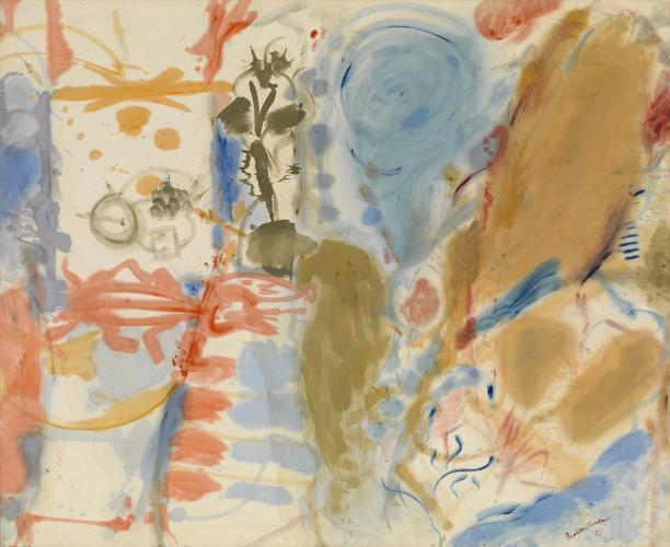 Helen Frankenthaler, 'Western Dream', 1957, Painting, Helen Frankenthaler Foundation