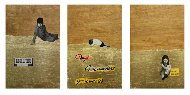 , 'Boys! Come Over Here (triptych),' 2015, Arusha Gallery