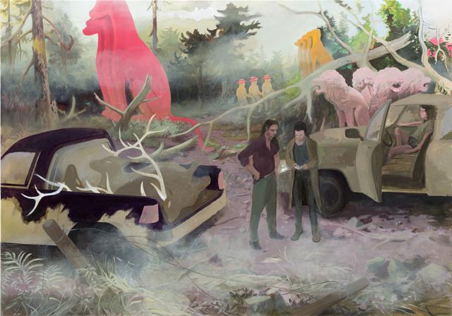 , 'Waldarbeiter,' 2017, Galerie Kleindienst