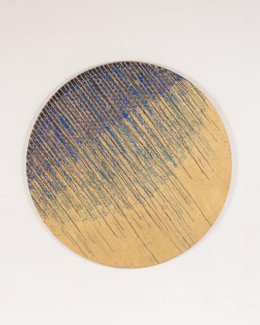 """, '""""Bleu Or"""",' 2017, Galerie Dutko"""