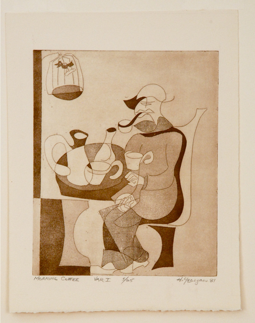 , 'Morning Coffee, Variation I,' 1981, Sragow Gallery