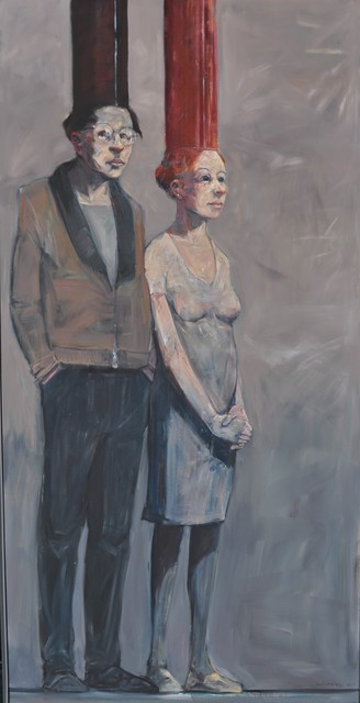 Robert Indermaur, 'Atlanten', 2014, Painting, Oil on canvas, GALERIE URS REICHLIN