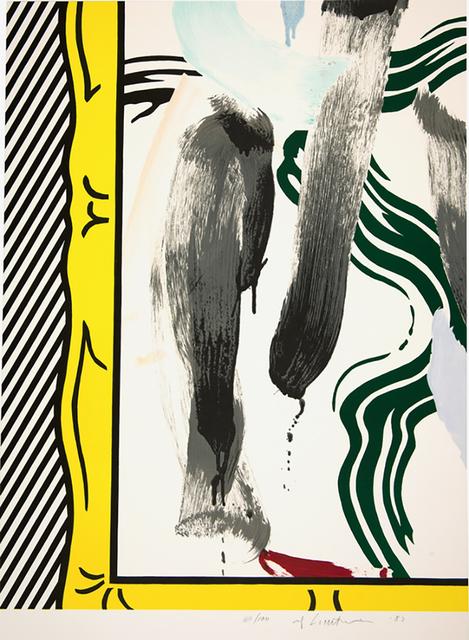 Roy Lichtenstein, 'Against Apartheid', 1983, DTR Modern Galleries