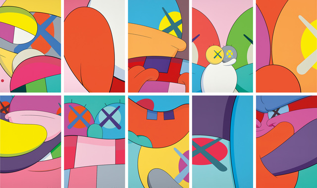 KAWS, 'NO REPLY', 2015, Phillips
