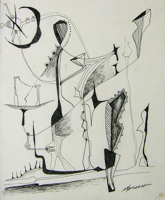 , 'Rêverie,' 1947, Canadian Art Group