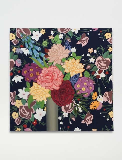 , 'Flowers on Flowers,' 2017, Anat Ebgi
