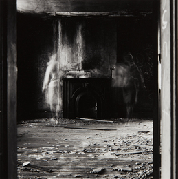 Ralph Eugene Meatyard, 'Untitled, (two ghosts with fireplace),' 1969, Phillips: The Odyssey of Collecting