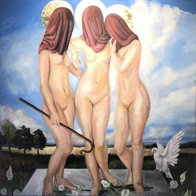 Heather Weller, 'Trinity', 2019, {9} The Gallery