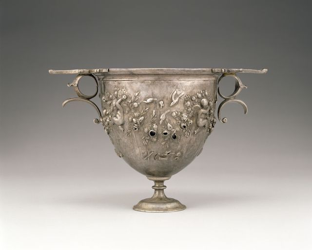'Skyphos',  about 50 -25 B.C., J. Paul Getty Museum