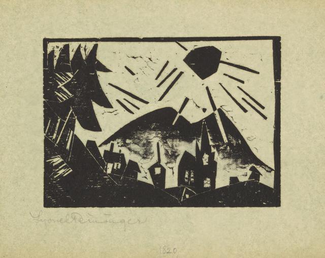 , 'Mountain Village,' 1918, Galerie St. Etienne