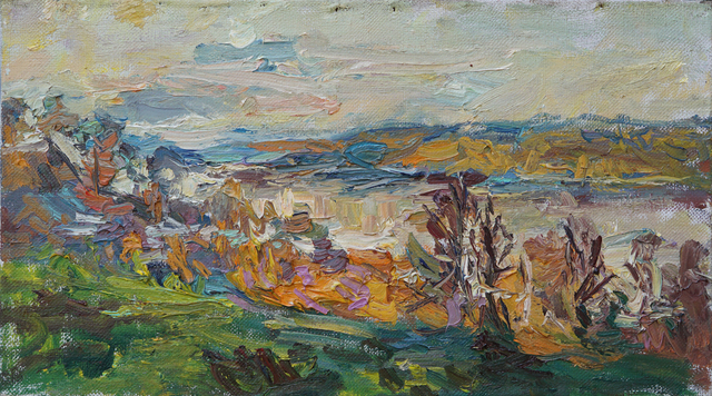 , 'The Volga River in October,' 2017, Gallery 1261
