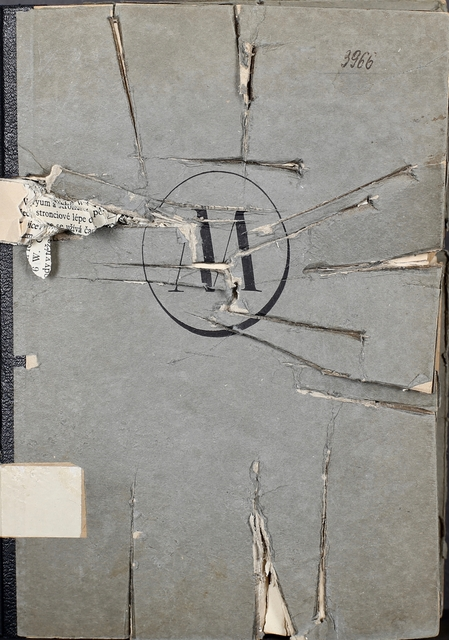 milan knizak, 'Killed Book', 1972, Galerie aKonzept