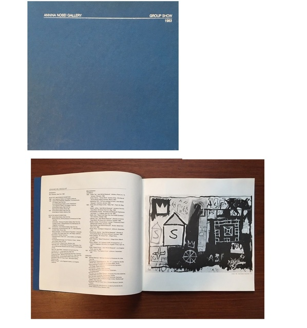 "Jean-Michel Basquiat, '""Annina Nosei Gallery- Group Show, 1983"", Exhibition Catalogue, Annina Nosei Gallery NYC', 1983, VINCE fine arts/ephemera"