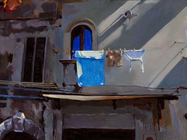 , 'Blue Towel, Civita,' , Dowling Walsh