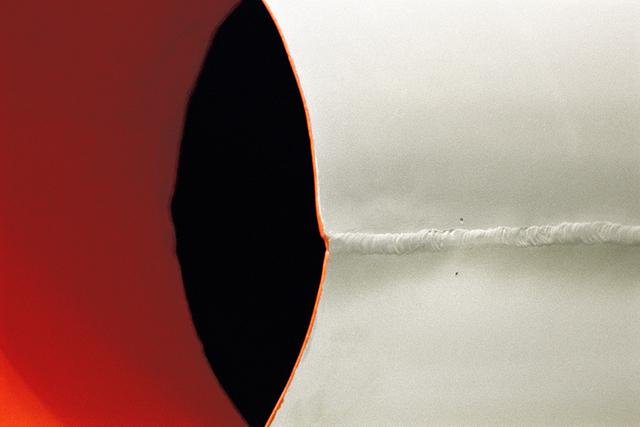 , 'Colorfield Study: Lord Haw Haw's Rocket,' 2002-2005, IFAC Arts