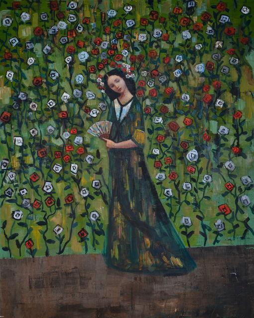 , 'Romantic Green,' 2017, HOHMANN