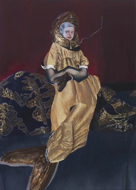 Teodora Axente, 'Fork', 2018, Painting, Oil on wood panel, rosenfeld