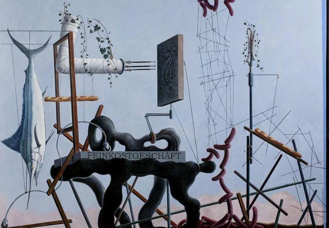, 'Subjekt malt Etüden transzendentaler Obdachlosigkeit,' 2005, Galerie Michael Haas