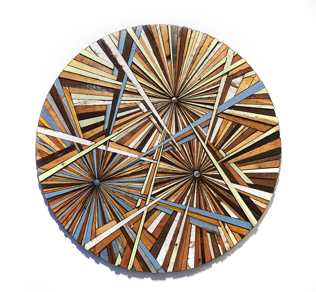 , 'Composite Memory Tri-Burst (NJ Shore Towns),' 2014, Jonathan LeVine Projects