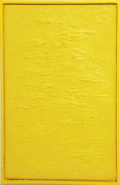 , 'Byte size paintings: yellow,' 2015, Hello Project Gallery