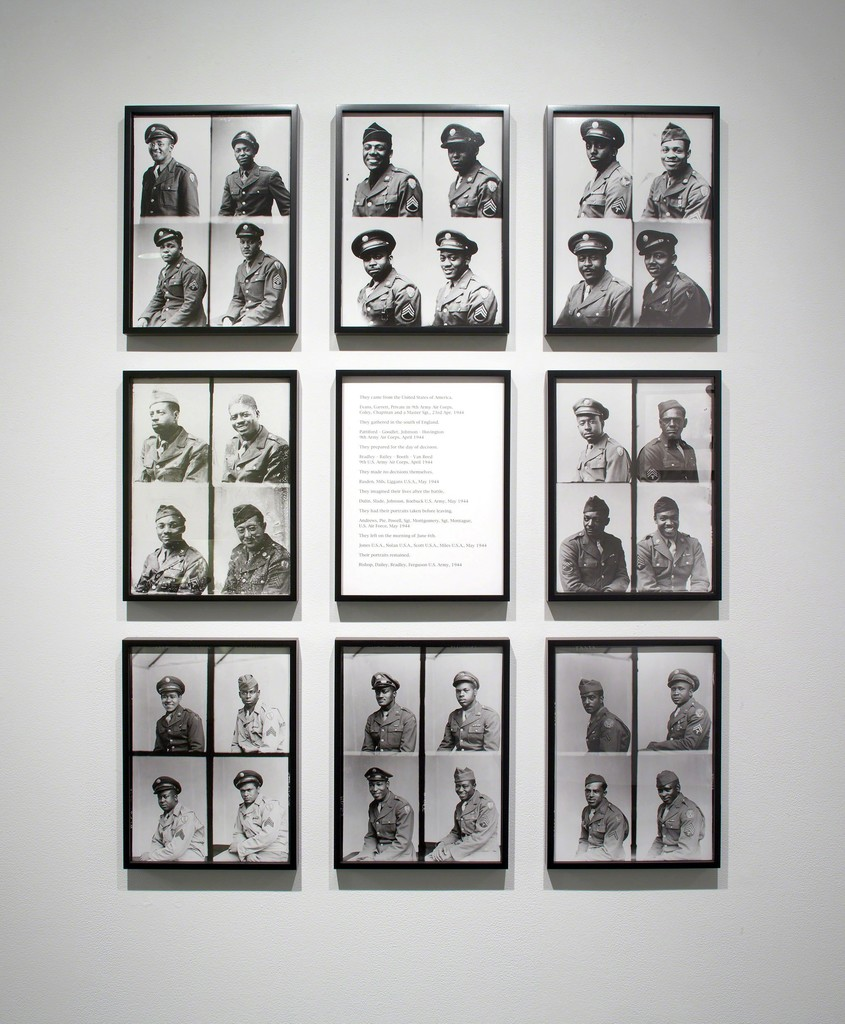 "Installation view, ""Hope and Anger — The Civil Rights Movement and Beyond,"" Tang Teaching Museum, 2014"