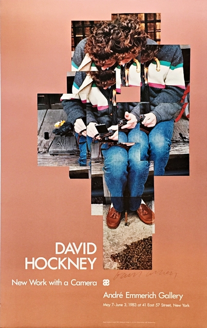 David Hockney, 'New Work With A Camera. Hand signed. ', 1983, Alpha 137 Gallery