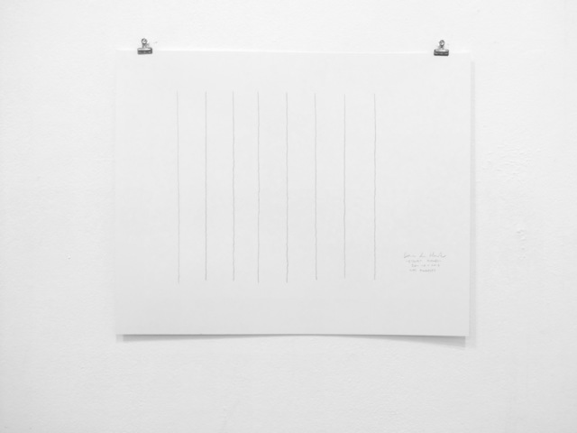 , '8-Hour Drawing (2),' 2017, DENK Gallery