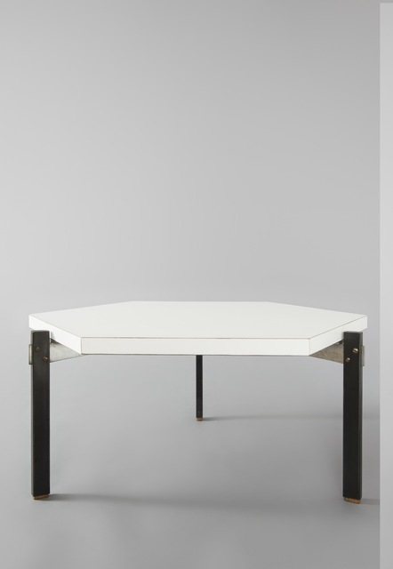 André Simard, 'Pair of hexagonal low tables', 1959, Galerie Pascal Cuisinier