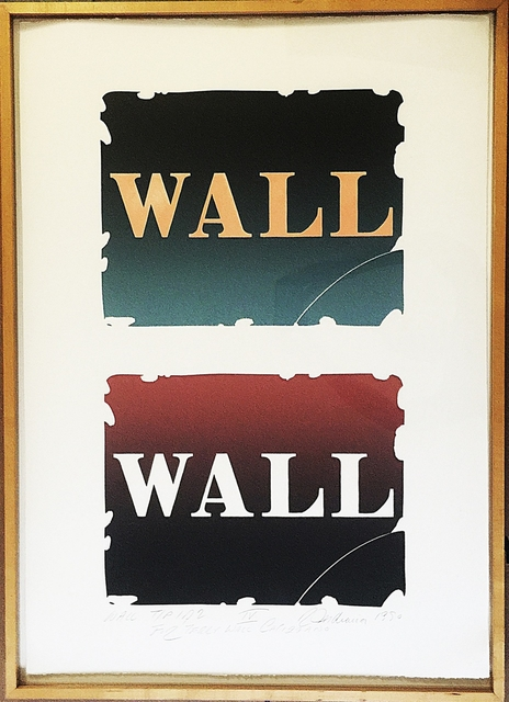 ", '""WALL TO WALL"" FROM WALL: TWO STONE SUITE IV,  WITH TWO ORIGINAL INK DRAWINGS VERSO,' 1990, Alpha 137 Gallery"