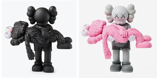 KAWS, 'KAWS Gone: Set of 2 (KAWS Companion)', 2019, Sculpture, Painted vinyl cast resin figures, Lot 180