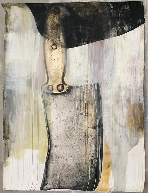 , 'Charis (Knife I),' 2017, CAMERA WORK