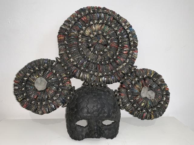 , 'Three Circle Quartz Crown Mask,' 2018, MAIA Contemporary
