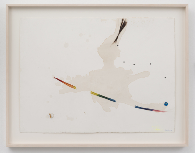 , 'Riding the Rainbow Broom,' 2016, David Lewis
