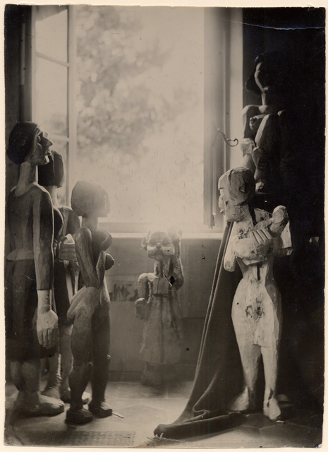 Ernst Ludwig Kirchner, 'Atelieraufnahme', ca. 1910, Corkin Gallery