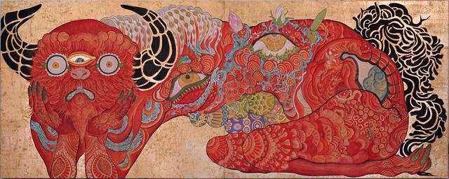 , 'Observer effect Hakutaku (Melancholy),' 2018, Galerie LJ