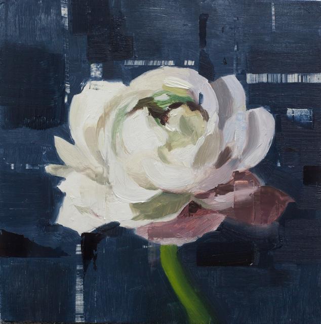 , 'White Ranunculus,' 2018, Abend Gallery