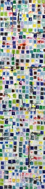 Petra Rös-Nickel, 'Stripe Maps Blue', 2015, Artspace Warehouse