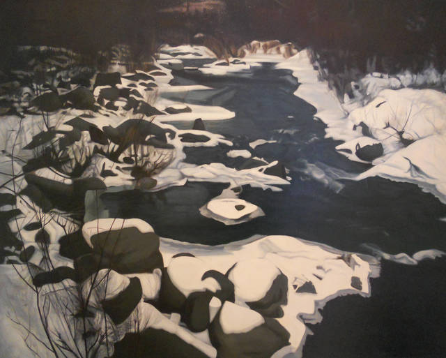, 'Winter Stream,' 1975, Walter Wickiser Gallery