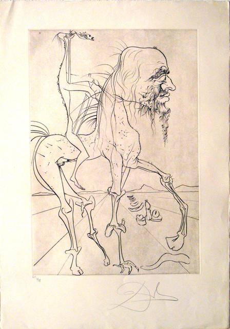 Salvador Dalí, 'La quimera d'Horaci', Sala Parés