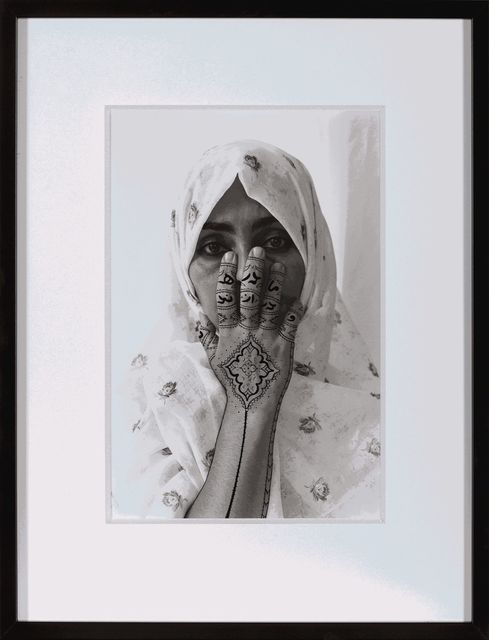 ", '""Birthmark,"" from Women of Allah series,' 1995, Dirimart"